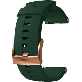 Suunto Athletic 4 Silicone Strap, forest/copper